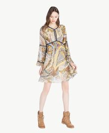 Printed dress Paisley Print Woman SS82MD-01