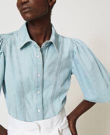 Camicia in jeans Denim Chiaro Donna 211TT2373-05