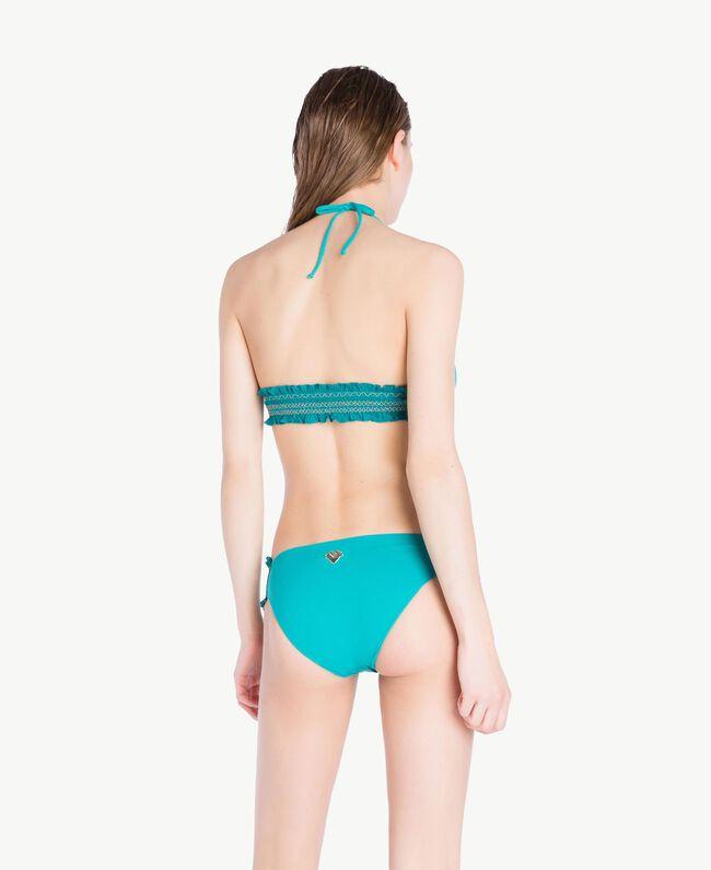 Bikinihose mit Stickerei Green Mirage Frau MS8A66-04