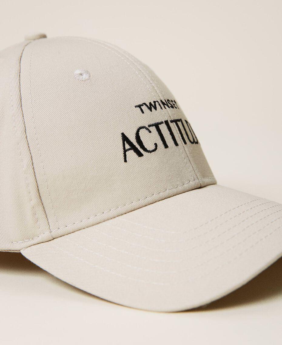 """Cappello da baseball con logo Beige """"Bone"""" Donna 212AA4110-02"""