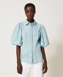 Camicia in jeans Denim Chiaro Donna 211TT2373-02