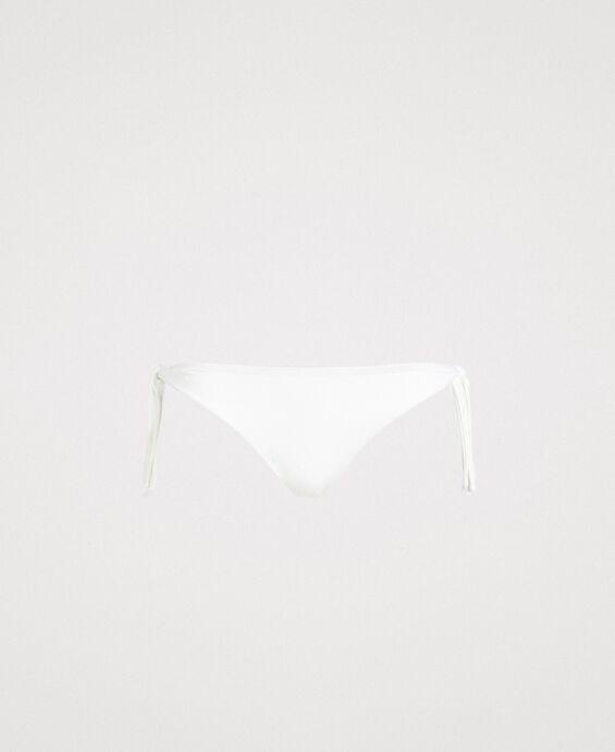 Bas de bikini tanga avec nœuds