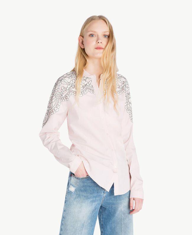 Lace shirt Quartz Pink Woman JS82D2-01