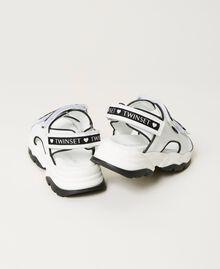 Sandalias de piel con logotipo Hueso Niño 211GCJ110-04