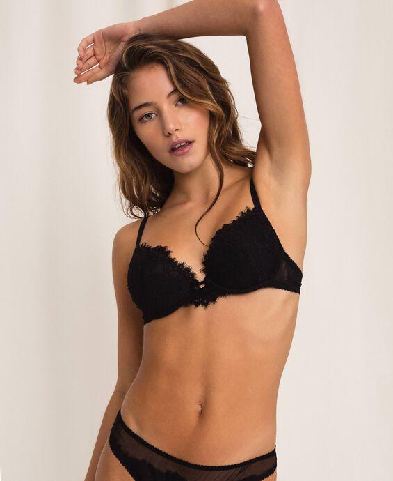 Lace push-up bra