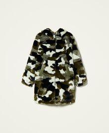 Piumino reversibile camouflage Jacquard Camouflage Donna 212AP2021-0S