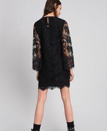 Robe courte en dentelle Noir Femme 192LI21EE-04