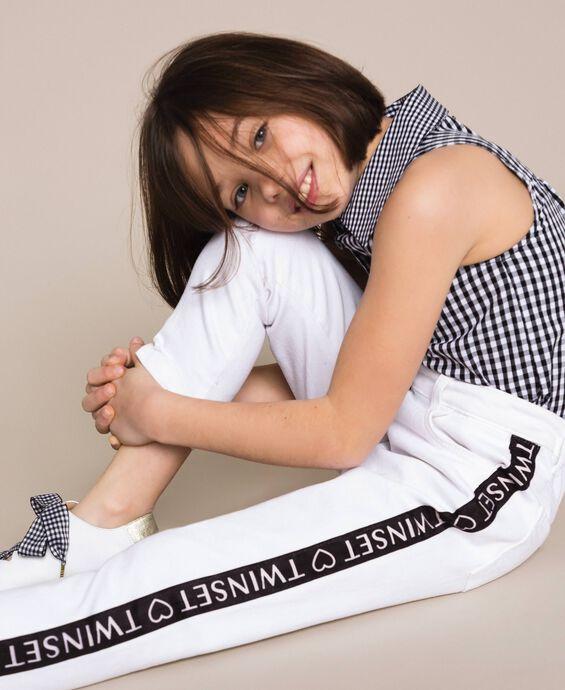 Pantalon skinny avec logo