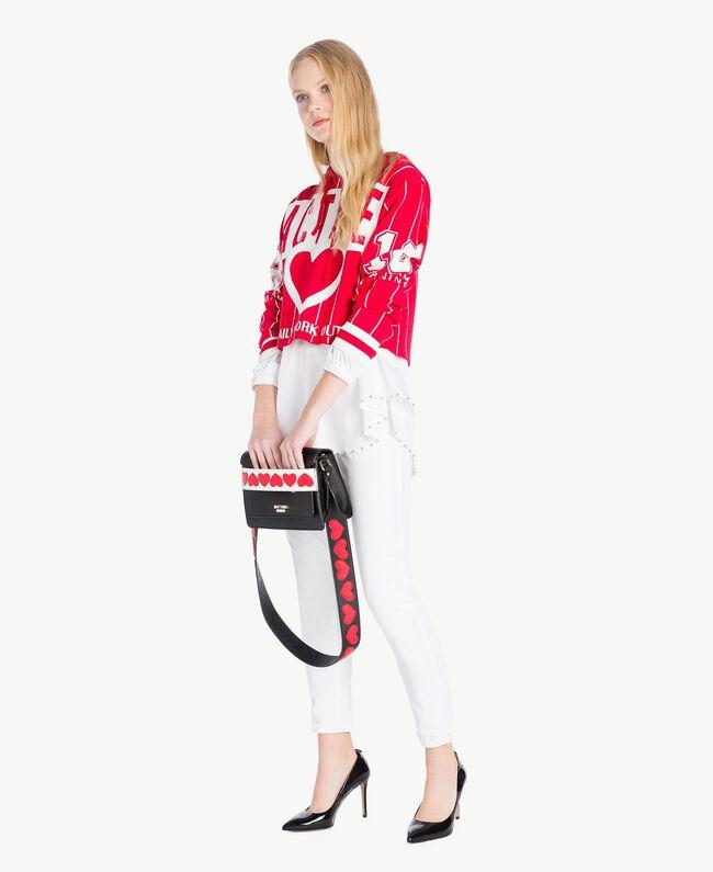 Skinny trousers White Woman JS82Z1-05