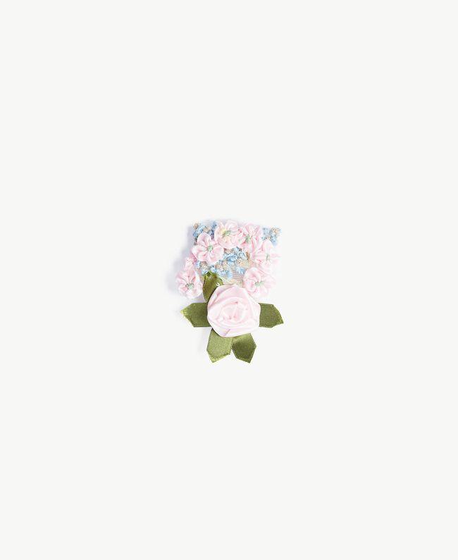 Silk blouse Hydrangea Pink Woman PS8224-06