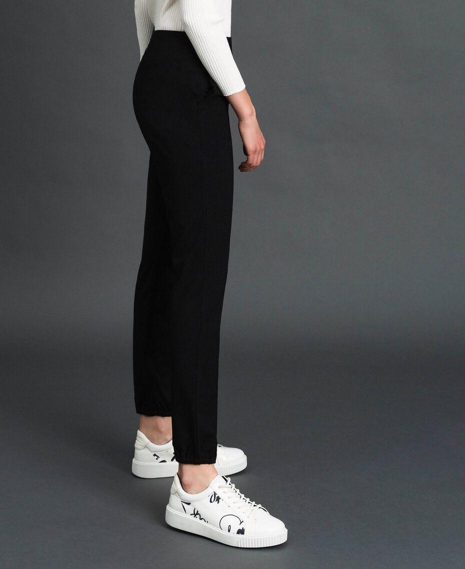 Jogging trousers Melange Grey Woman 192LI2UEE-03