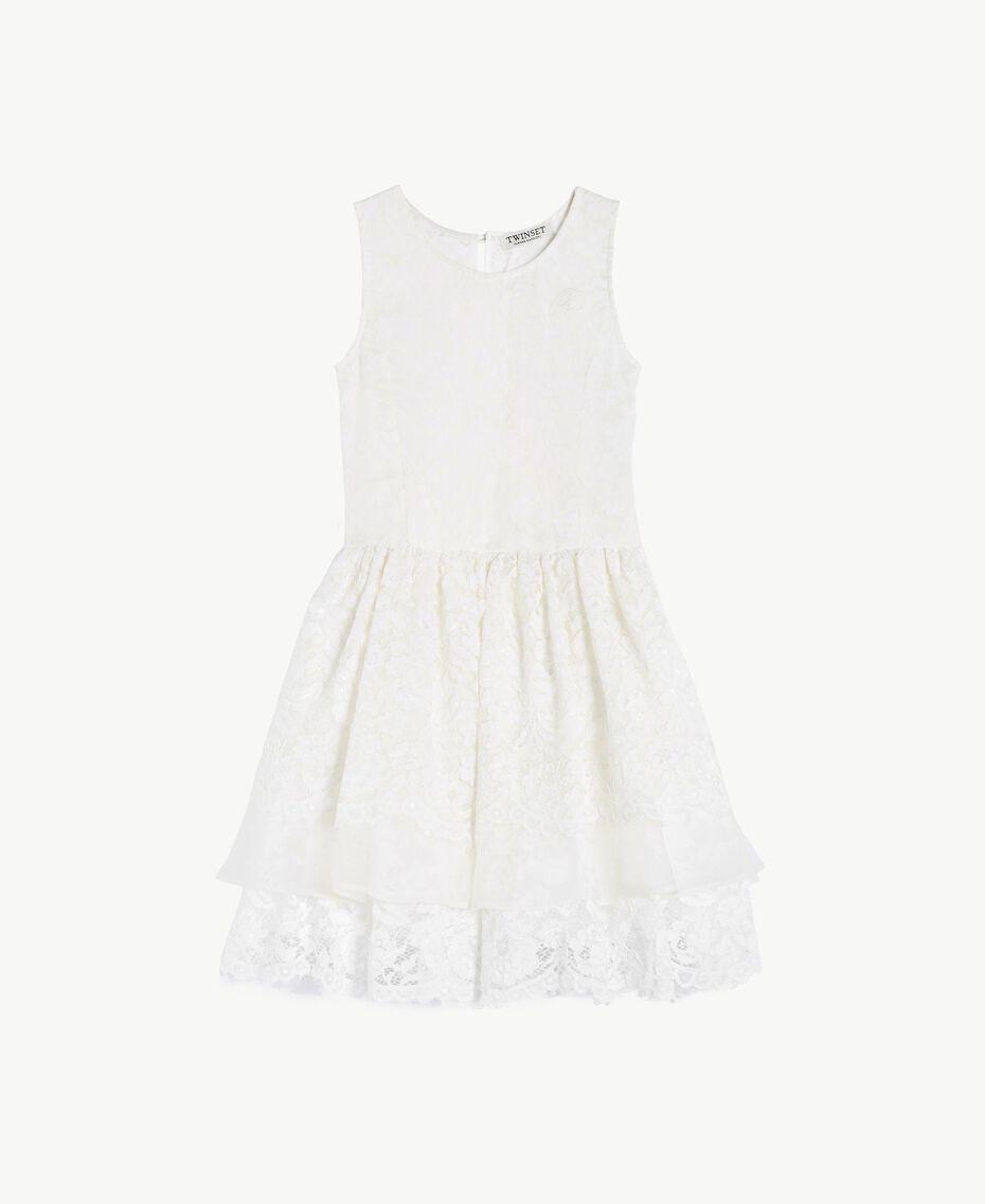 Robe soie Chantilly Enfant GS8LD1-01