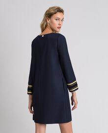 Платье из технической шерсти Синий Midnight женщина 192TT2459-03