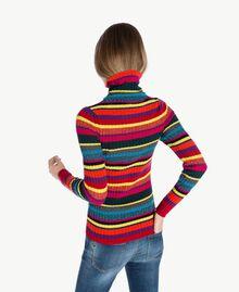 Jersey de rayas A Rayas Multicolor PA737P-02