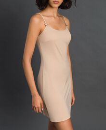 slip with shoulder straps Pink Skin Woman LCNNAA-02
