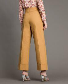 Pantalon en coton technique Brun Moyen Femme 191TP2181-04
