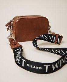 Small Rebel shoulder camera bag Leather Brown Woman 202TB723R-04