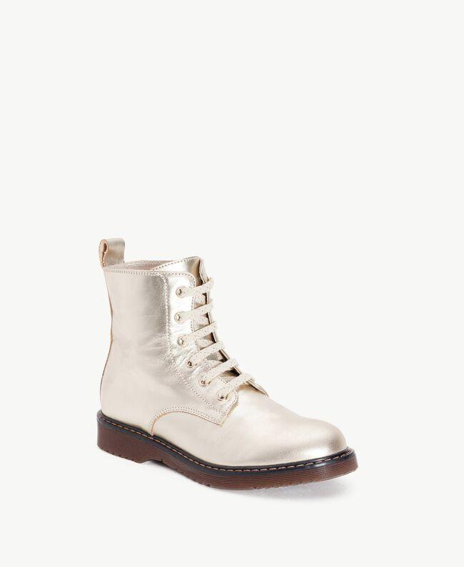 Boots lamé Or Jaune HA78AG-02