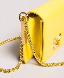 Petit Bea Bag à bandoulière en cuir Jaune Papillon Femme 191TA7142-01