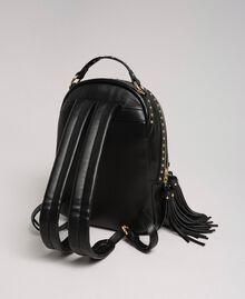 Zaino in similpelle con borchie Nero Donna 192TO8165-04