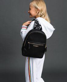 Рюкзак из искусственной кожи с логотипом Черный Pебенок 999GJ7017-0S