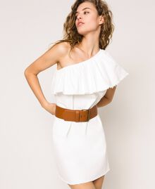 Maxi-Taillengürtel aus Lederimitat Leder Frau 201MO5351-0S