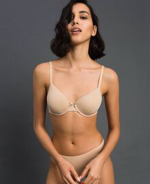 underwired bra (D cup) Pink Skin Woman LCNN5D-01