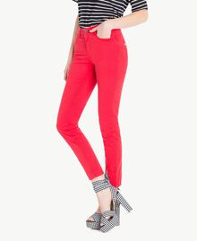 Pantalon skinny Rouge Vermillon Femme JS82Z1-02