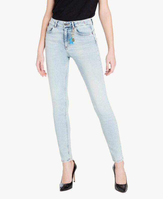Skinny jeans Denim Blue Woman JS82WG-01
