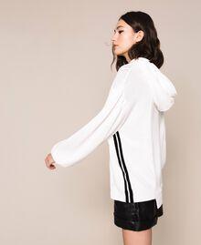 Maxi pull avec logo Lys Femme 201MP3210-02