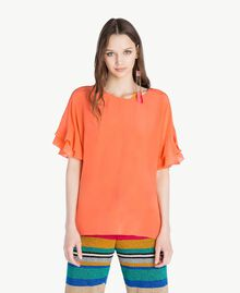 Blusa seta Arancia Donna TS827B-01