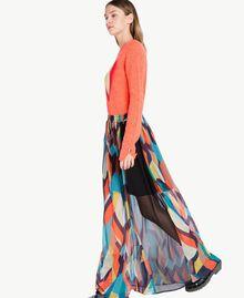 """Jupe longue imprimé Multicolore """"Imprimé Géométrique"""" Femelle PA7282-02"""