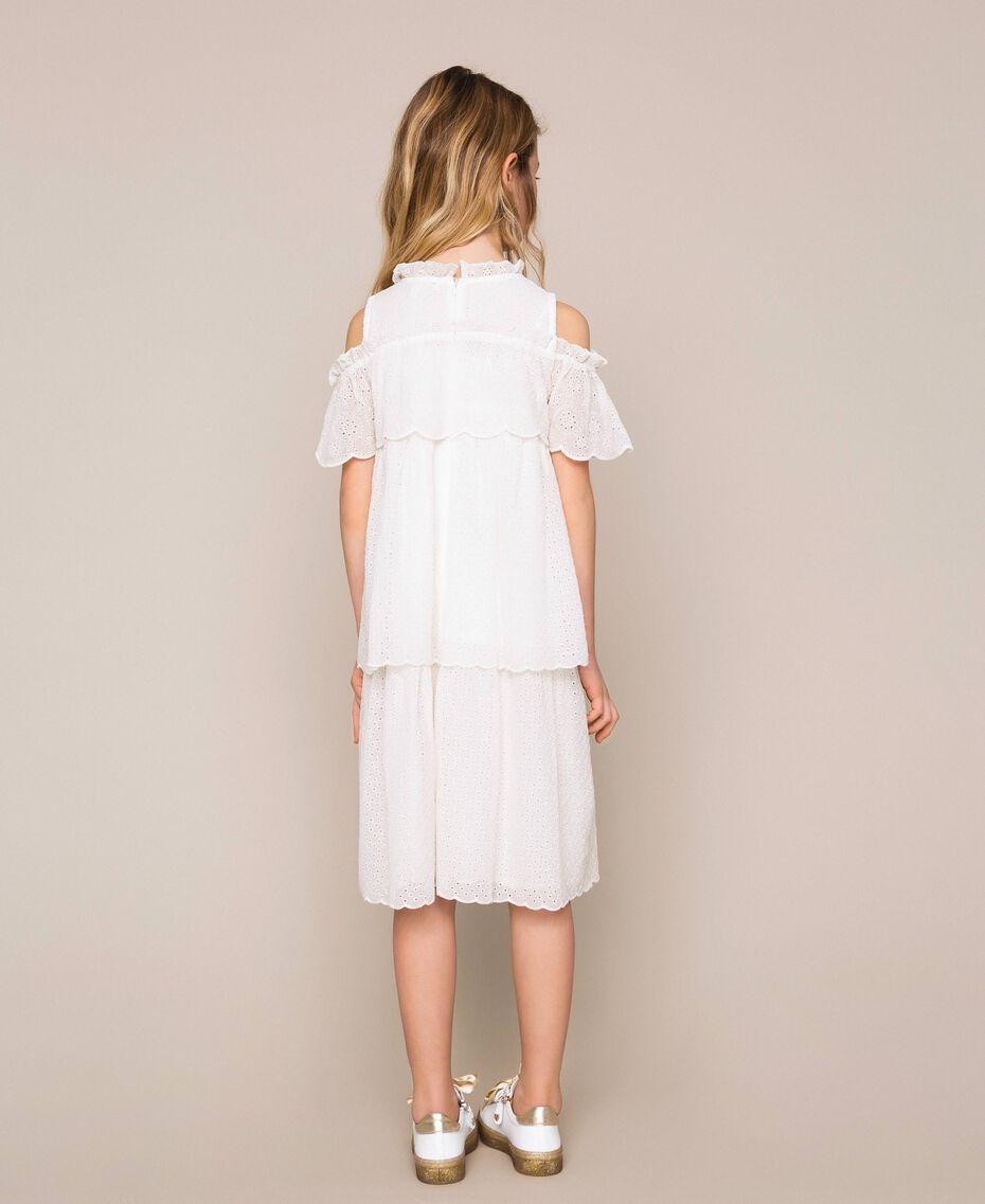 Broderie anglaise dress Off White Child 201GJ2QB0-03