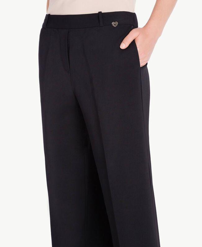 Pantalon cropped Noir Femelle PA72TB-04