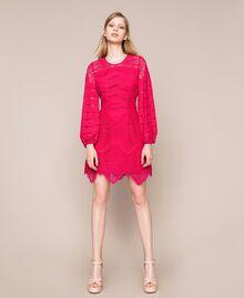 Платье из кружева макраме Вишня женщина 201TP2031-01