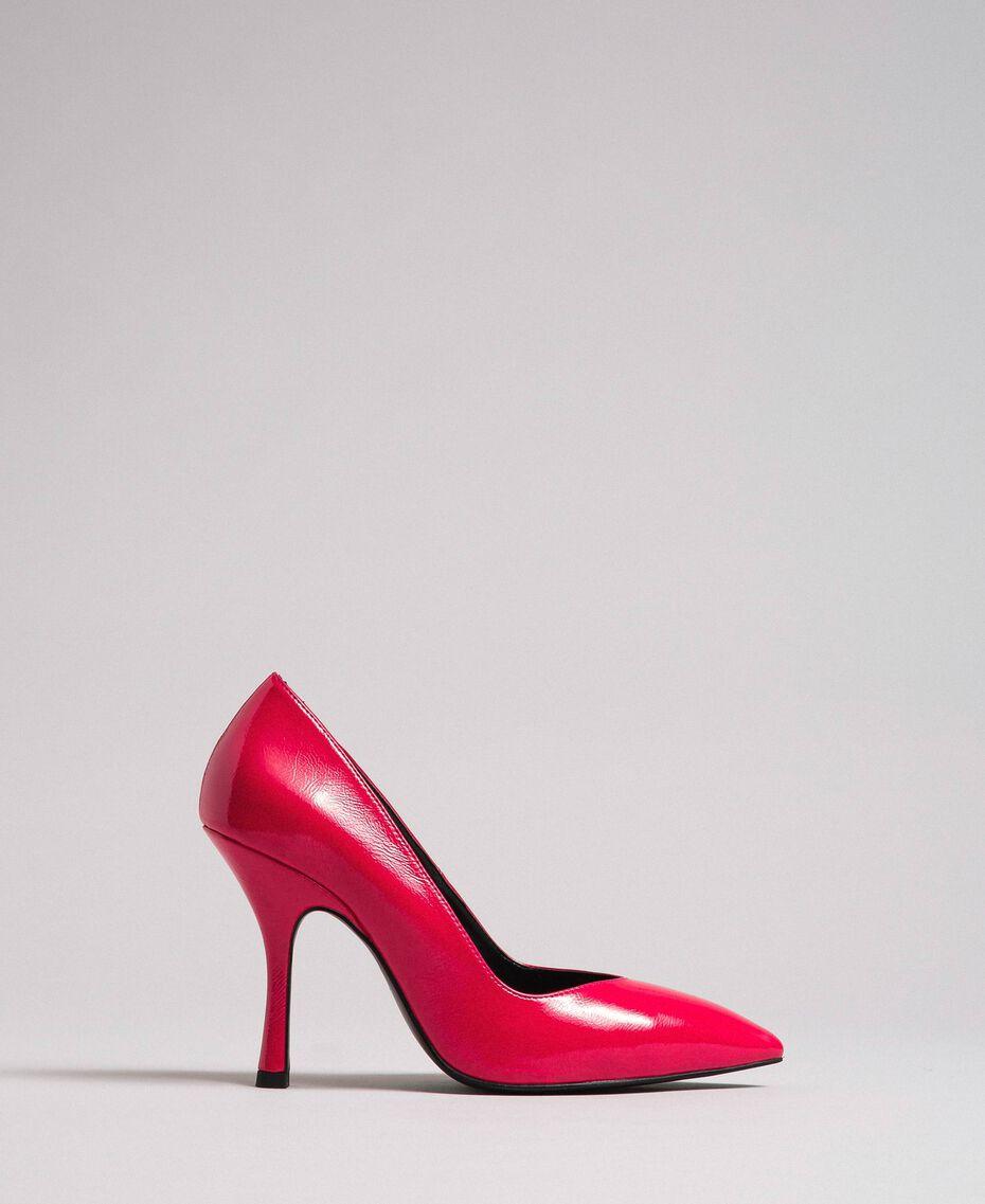 Escarpins vernis Rose «Rose Brillant» Femme 192MCT062-02