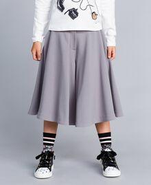 Crêpe trouser skirt Grey Stone Child GA82DC-02