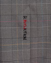 Mid-length Glen plaid skirt Prince of Wales Woman 192MP2283-02