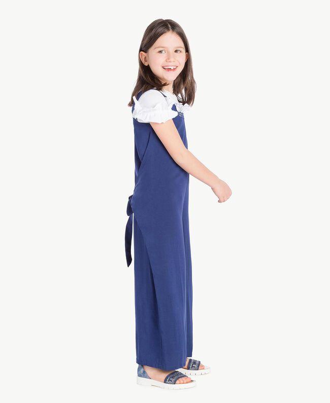 Rhinestone sandals Infinite Light Blue Child HS88DQ-06