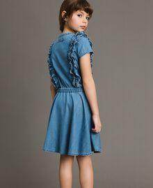 Jeanskleid mit Rüschen Soft Denim Kind 191GJ2562-03