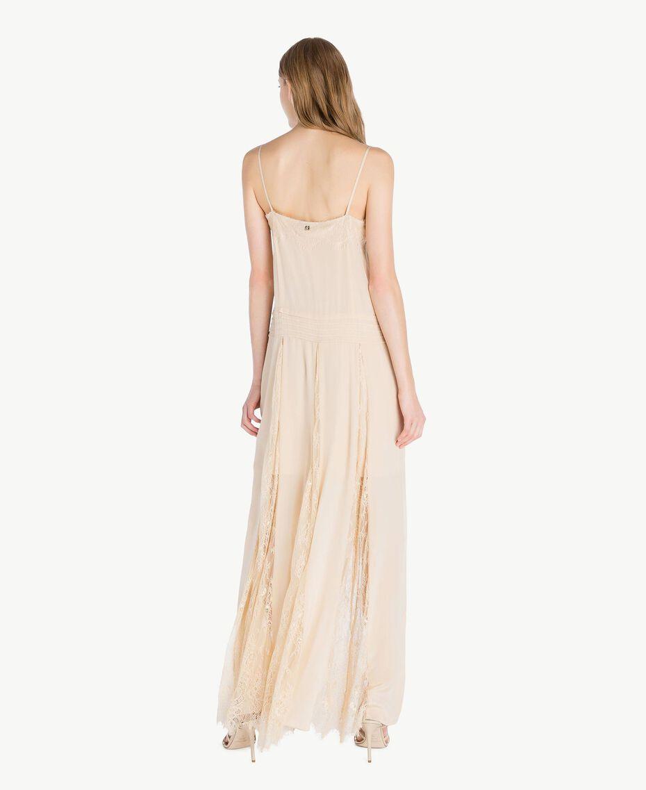 Silk dress Ecrù Woman PS82EA-03
