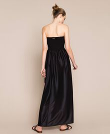 Long dress with print Black Rose Print Woman 201LB28SS-03