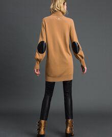 Maxi pull en laine et cachemire Beige «Séquoia» Femme 192ST3152-03