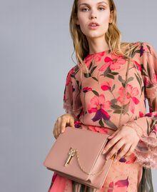 Sac à bandoulière en cuir Rose PâlePapillon Femme OA8TEA-0S