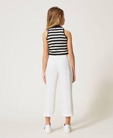 Poplin trousers Off White Child 211GJ2234-03