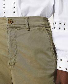 Pantalon cargo avec poches Vert Alpin Femme 211TT2652-04
