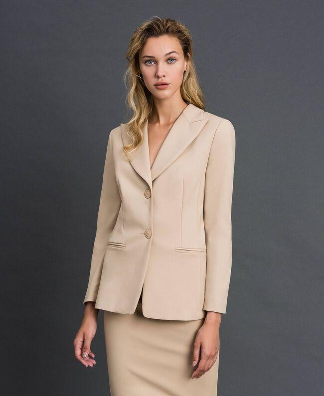 Giacca blazer con tasche Cream Donna 999TT2010-01