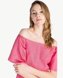 Envers satin dress Provocateur Pink Woman TS823K-04