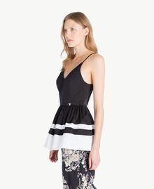 Top Noir / Blanc Optique Femme YS82FB-02
