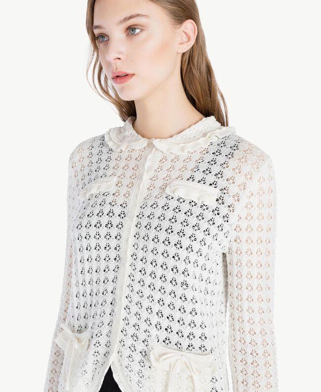 Cotton mandarin collar top Mother Of Pearl Woman TS83AQ-04